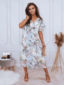 Sukienka Dstreet midi z dekoltem w kształcie litery v
