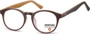 Stylion Lenonki okragle oprawki optyczne, korekcyjne Montana MA66E