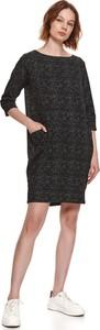 Sukienka Top Secret mini z okrągłym dekoltem w stylu casual