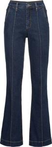 Niebieskie spodnie bonprix RAINBOW w stylu retro