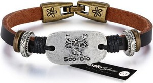 Męska bransoletka skorpion estilo sabroso es04680