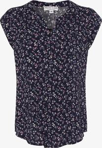 Bluzka Marie Lund z dekoltem w kształcie litery v w stylu casual
