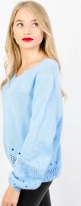 Niebieski sweter Olika