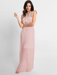 Sukienka Apart bez rękawów maxi