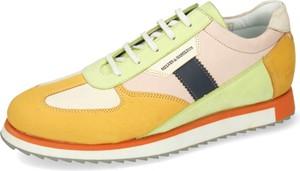 Buty sportowe Melvin & Hamilton sznurowane ze skóry w sportowym stylu