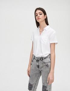 Zielone koszule damskie Cropp Kolekcja lato 2020 Sklep