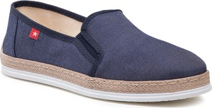 Granatowe buty letnie męskie Big Star z tkaniny