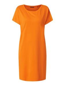 Sukienka Marc O'Polo w stylu casual koszulowa z okrągłym dekoltem