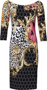 Sukienka bonprix BODYFLIRT boutique dopasowana w stylu casual midi