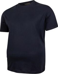 T-shirt Bigsize z krótkim rękawem w stylu casual