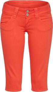 Pomarańczowe szorty pepe jeans