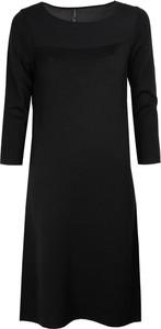 Sweter liviana conti trapezowa bez wzorów z długim rękawem