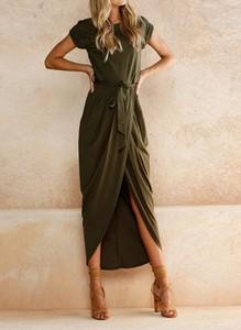 Zielona sukienka Arilook midi