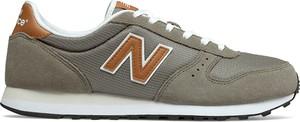 Buty sportowe New Balance z zamszu sznurowane