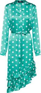 Sukienka Sister'S Point z długim rękawem asymetryczna w stylu casual