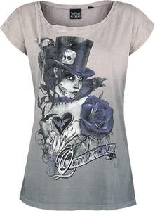 T-shirt Emp z krótkim rękawem z okrągłym dekoltem z nadrukiem