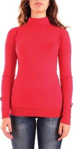 Czerwona bluzka dziecięca Fracomina z dżerseju