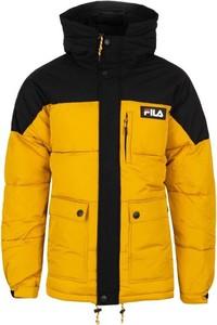 Żółta kurtka Fila