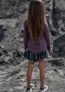 Fioletowa bluza dziecięca Mashmnie