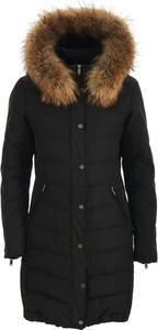Czarna kurtka Saki w stylu casual