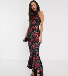 Sukienka Chi Chi London Tall maxi bez rękawów