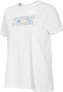 T-shirt 4F z bawełny