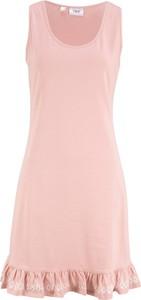 Sukienka bonprix bpc bonprix collection trapezowa z dżerseju w stylu casual