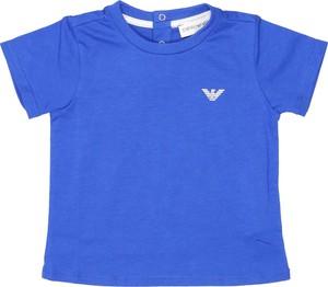 Koszulka dziecięca Emporio Armani z krótkim rękawem dla chłopców