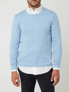 Sweter McNeal w stylu casual z okrągłym dekoltem