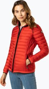 Czerwona kurtka Wellensteyn krótka w stylu casual
