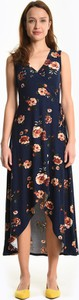 Sukienka Gate z dekoltem w kształcie litery v z odkrytymi ramionami na ramiączkach