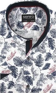 Koszula Sefiro w młodzieżowym stylu z klasycznym kołnierzykiem