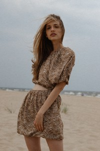 Sukienka Marsala mini