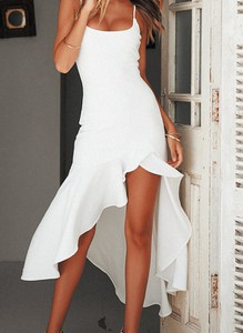 Sukienka Sandbella mini asymetryczna