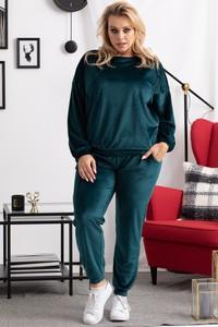 Zielony dres KARKO z bawełny