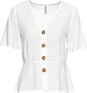 Bluzka bonprix RAINBOW z dekoltem w kształcie litery v z krótkim rękawem w stylu casual