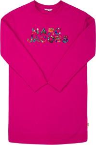 Różowa sukienka dziewczęca Little Marc Jacobs