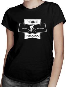 Czarny t-shirt Koszulkowy z krótkim rękawem z okrągłym dekoltem w młodzieżowym stylu