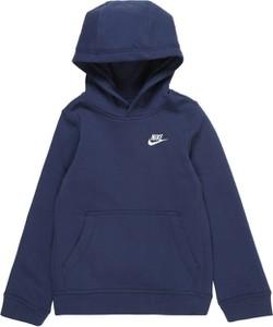 Granatowa bluza dziecięca Nike Sportswear z tkaniny