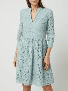 Sukienka Jake*s Collection z bawełny z długim rękawem w stylu casual
