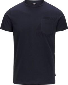 T-shirt K-Way w stylu casual z krótkim rękawem