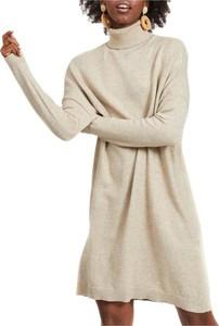 Sukienka Vila mini w stylu casual z długim rękawem