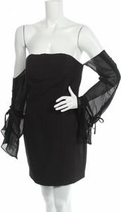 Czarna sukienka Vera & Lucy hiszpanka z długim rękawem mini