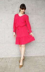 Różowa sukienka Sklepfilloo