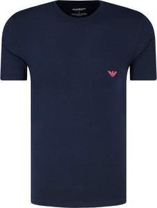 T-shirt Emporio Armani z krótkim rękawem w stylu casual