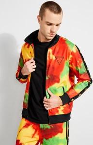 Bluza Guess w młodzieżowym stylu z tkaniny
