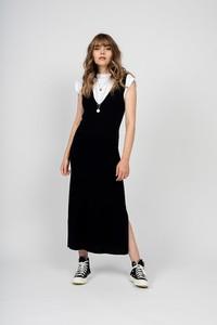 Sukienka Just Cashmere na ramiączkach maxi
