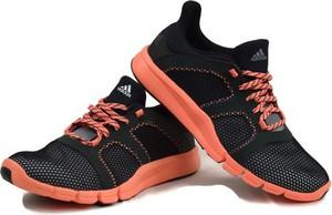 Czarne buty sportowe ctxsport sznurowane na koturnie flex