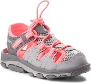 Buty dziecięce letnie New Balance ze skóry ekologicznej z płaską podeszwą