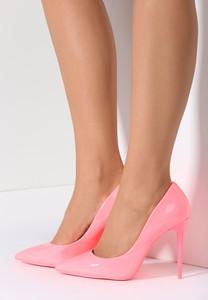 Renee różowe szpilki maroon